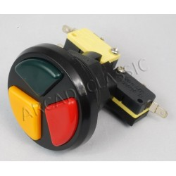 3 In 1 Push Button Red /...