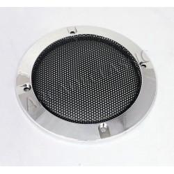 """Speaker cover 4"""" black chrome"""