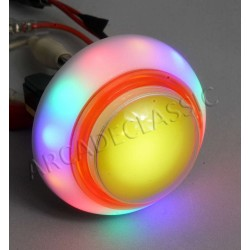 Regenbogen Farben LED Button