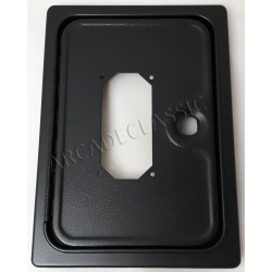 Coin door with cutout for...